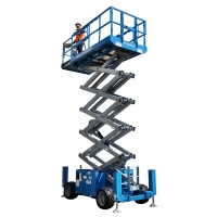Genie 26ft Diesel Scissor Lift For Hire