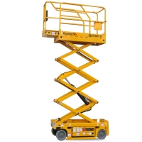 Haulotte 19ft Electric Scissor Lift For Hire