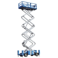 Genie 53ft Diesel Scissor Lift For Hire