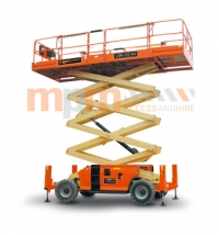 4394RT 43ft Diesel Scissor Lift