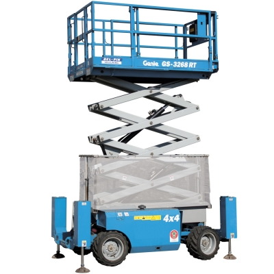Genie 32ft Diesel Scissor Lift For Hire