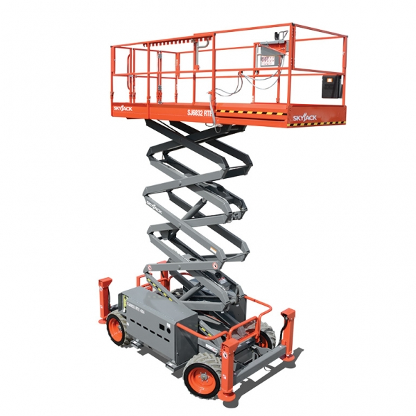 Skyjack 32ft 4WD Electric Scissor Lift for Hire