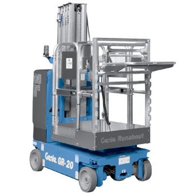 Genie GR20 - 20ft Mobile Vertical Lift For Hire