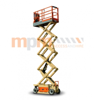 JLG 26ft Narrow Electric Scissor Lift For Hire