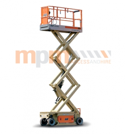 JLG 20ft Narrow Electric Scissor Lift For Hire