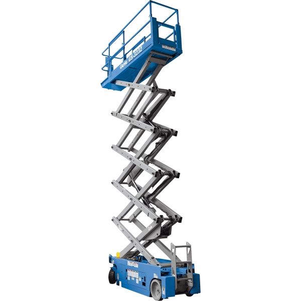 Genie 32ft Slimline Electric Scissor Lift for Hire